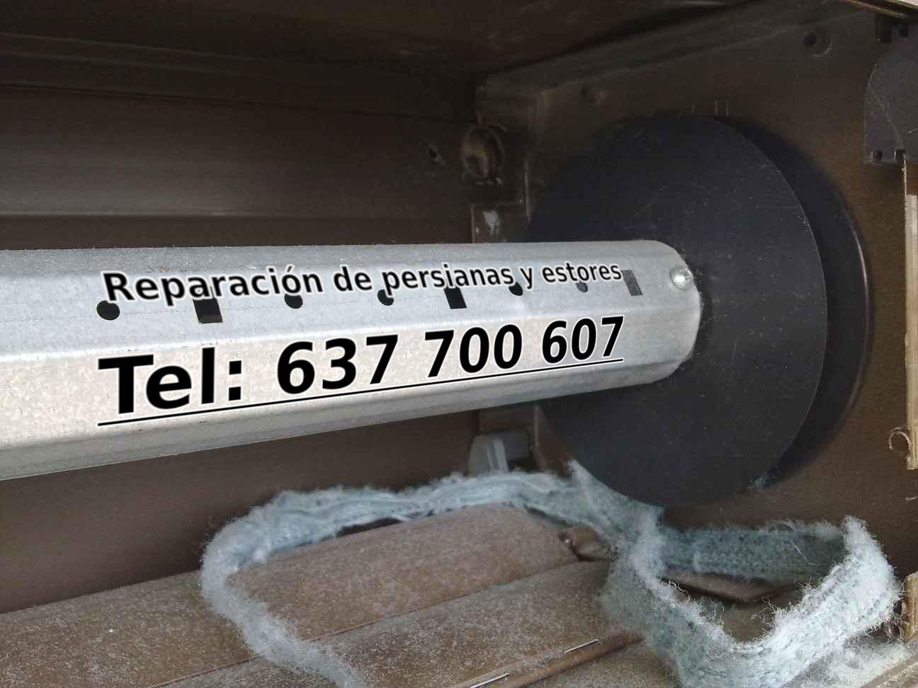 reparacion motor persianas en barcelona